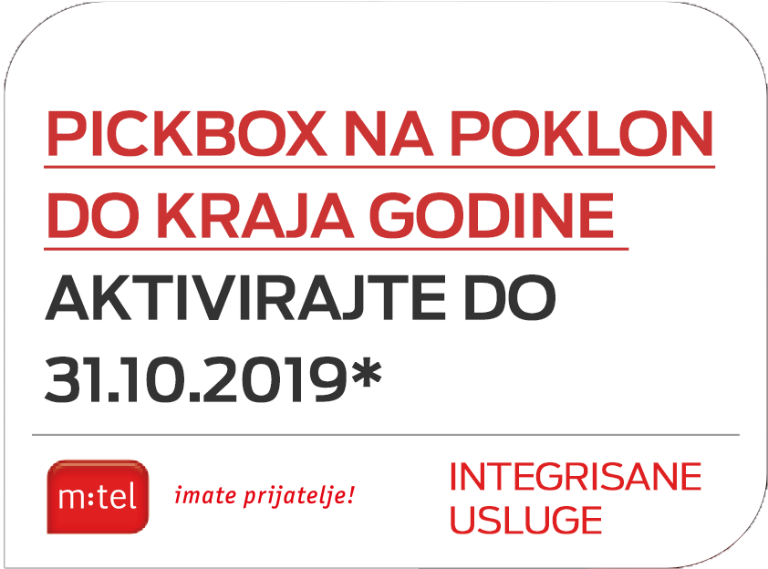 poklon Pickbox gratis